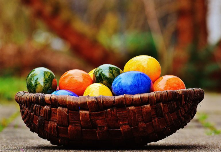 Idee für Osterkarten