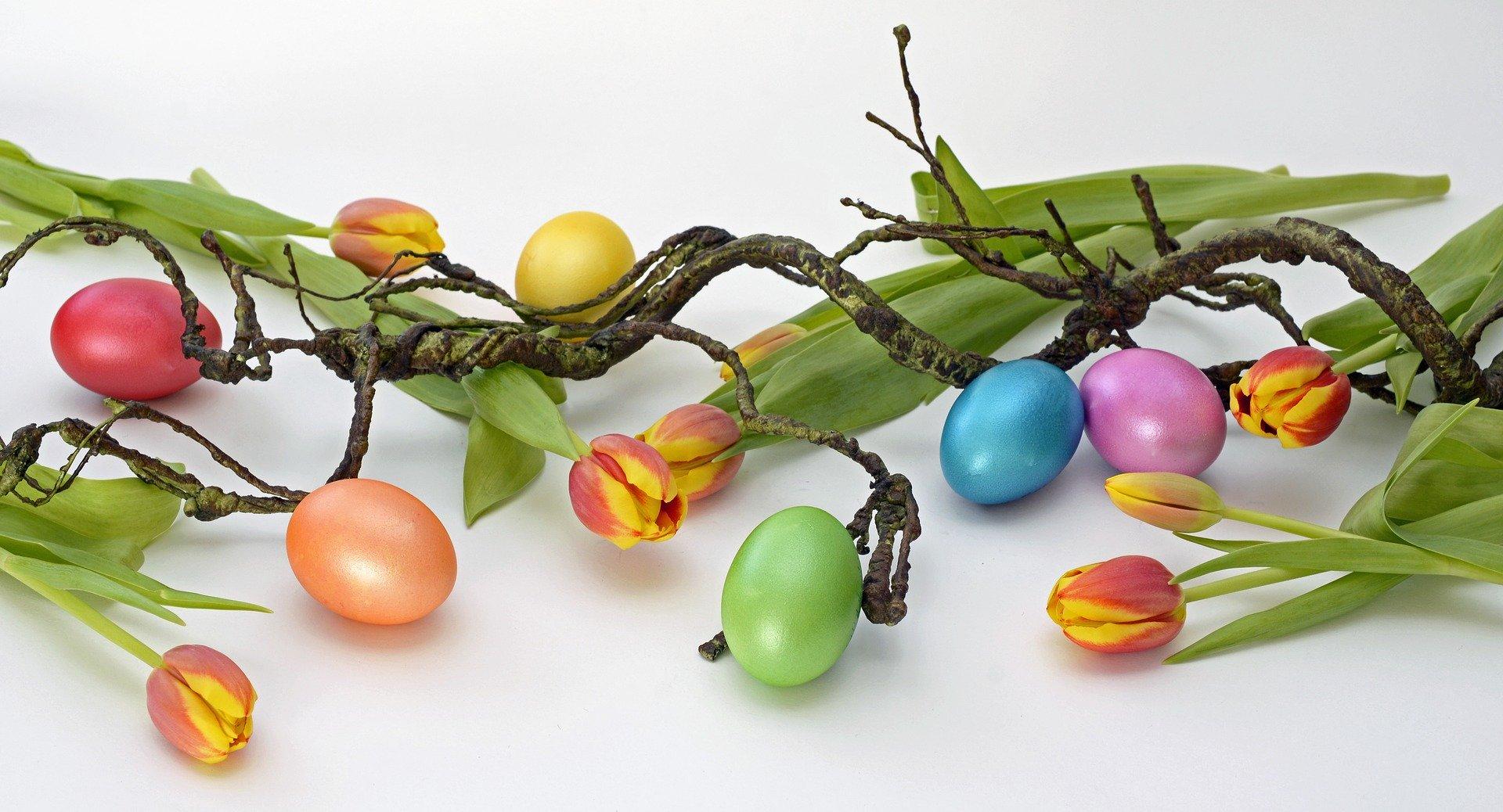 Frühjahrsgruß zur Osterzeit